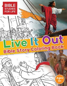 Live It Out Bible Stories Coloring Book