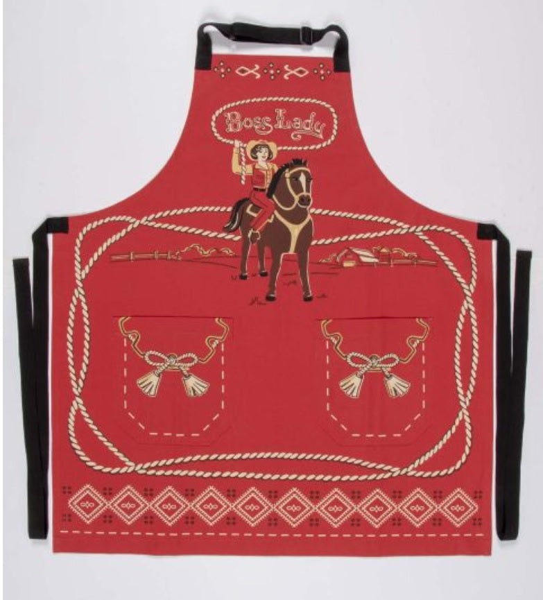 Boss Lady Apron- the kitchen accessory every boss lady needs