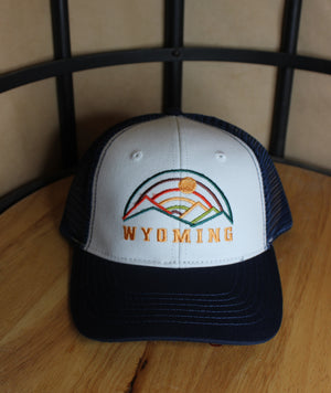Threaded Mountains Trucker Hat