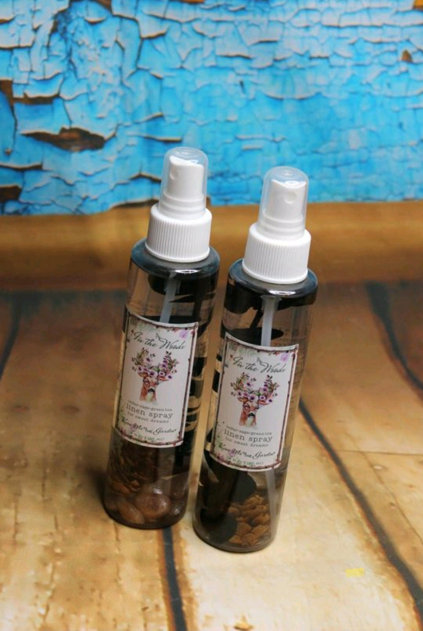 In The Woods Linen Spray