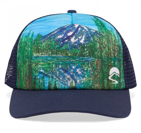 Mountain Reflections Trucker Hat- Limited Artist Edition