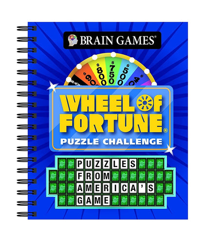 Wheel of Fortune Puzzle Challenge Game Book