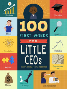 100 First Words for Little CEOs | Board Book