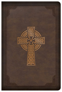 CSB Large Print Reference Bible | Celtic Cross