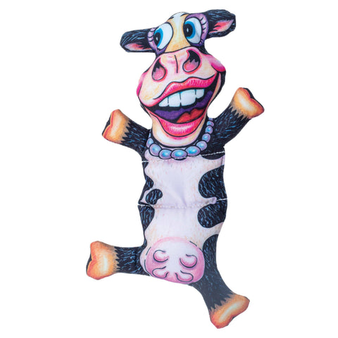 Barnyard Flops Dog Toys - Big Moo