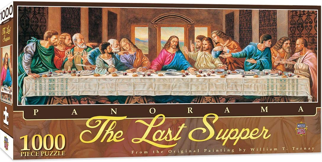 The Last Supper 1,000 Piece Puzzle