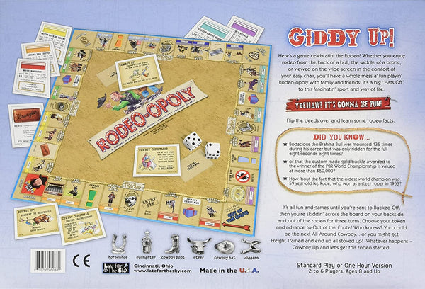 Rodeopoly | The Bronc Bustin' Good Time Game