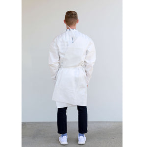 Disposable Non-Surgical Isolation Gown | Full Back