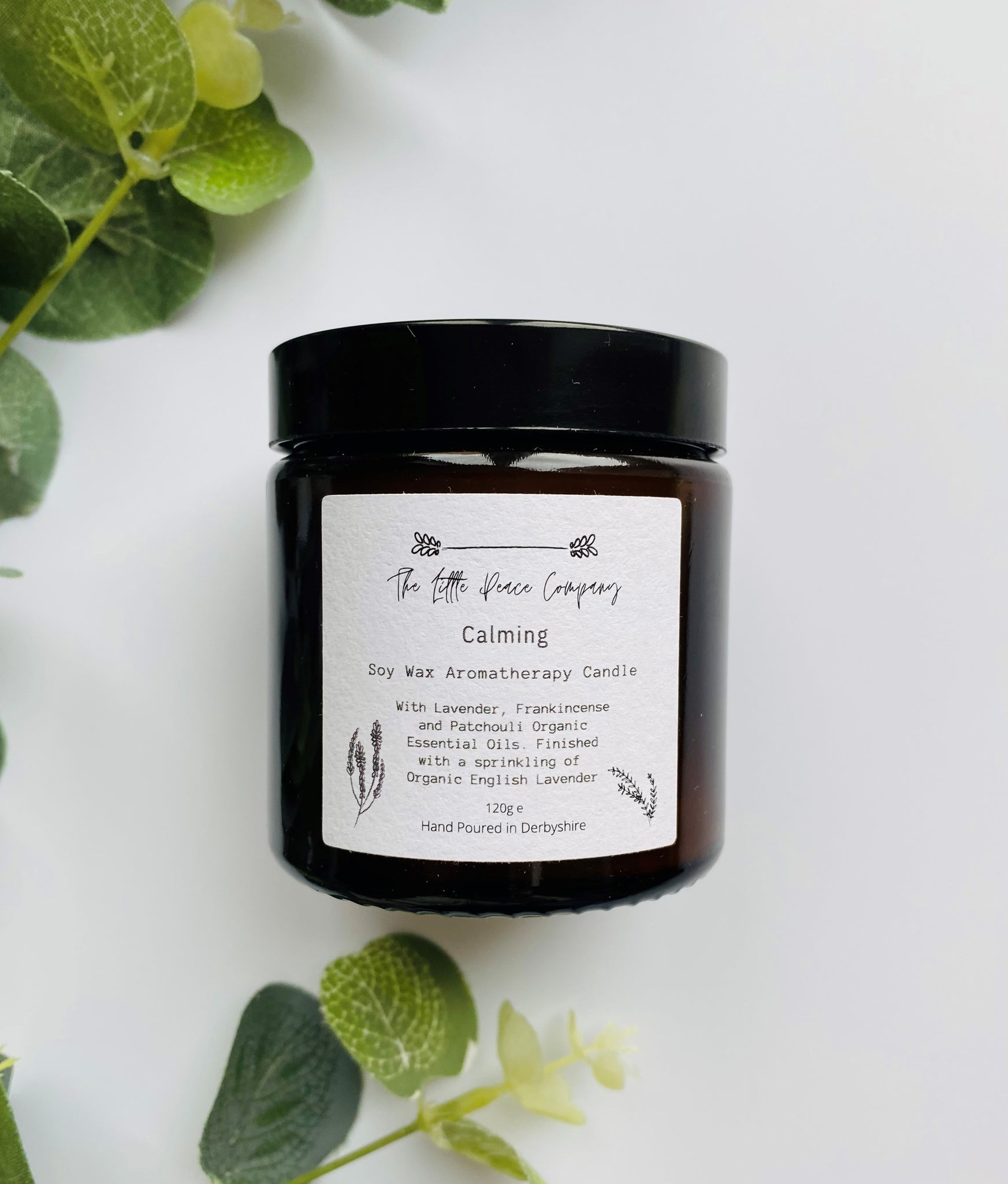 The Little Peace Company - Calming Soy Candle