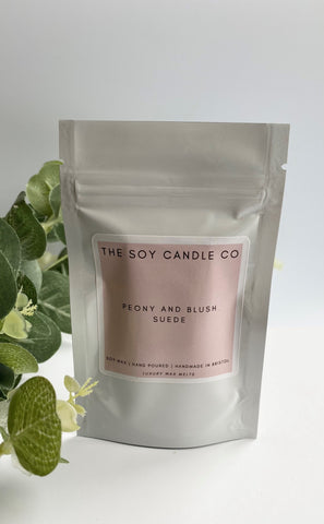 The Soy Candle Co. Wax Melts - Peony & Blush