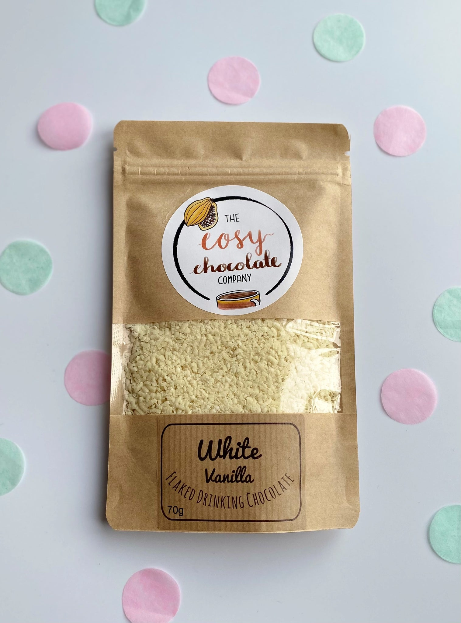 The Cosy Chocolate Company 'White' Hot Chocolate