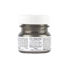 Fusion Mineral Paint - Brushed Steel Metallic