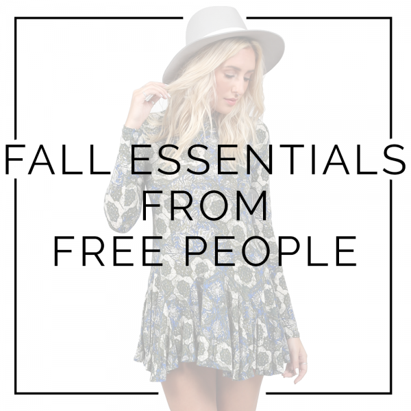 Fall Essentials from Free People