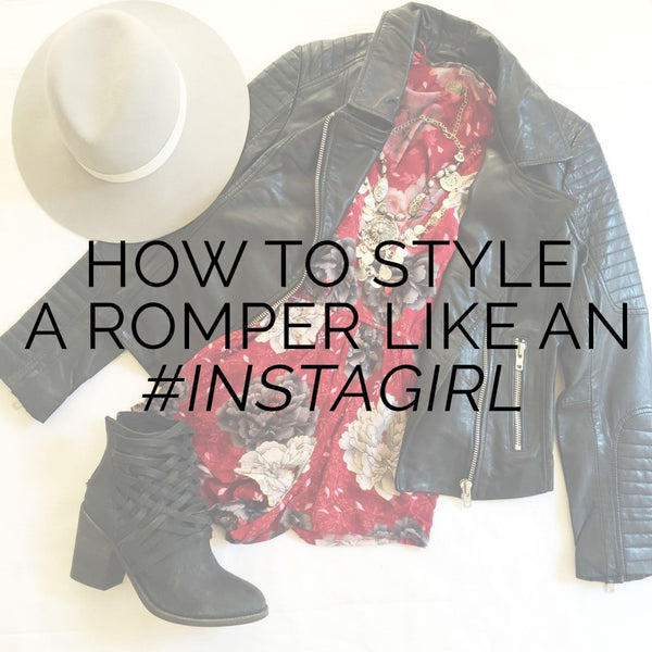How To Style A Romper Like An Insta-Girl