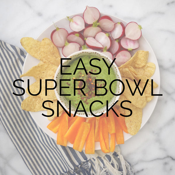 Easy Super Bowl Snacks