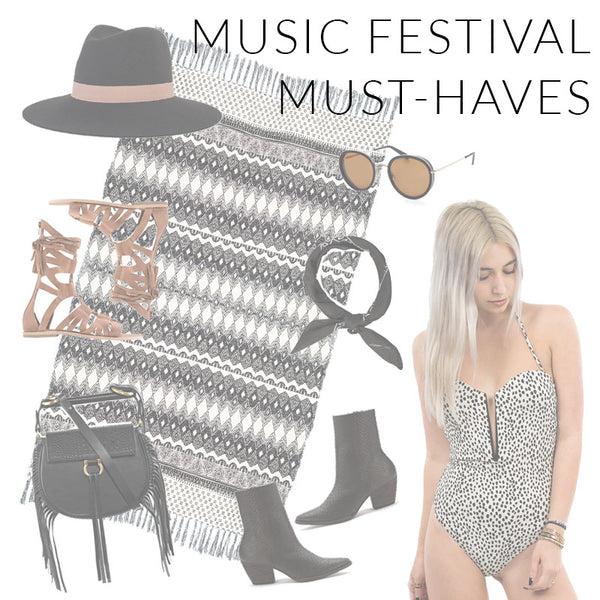 Last Minute Music Festival Must-Haves