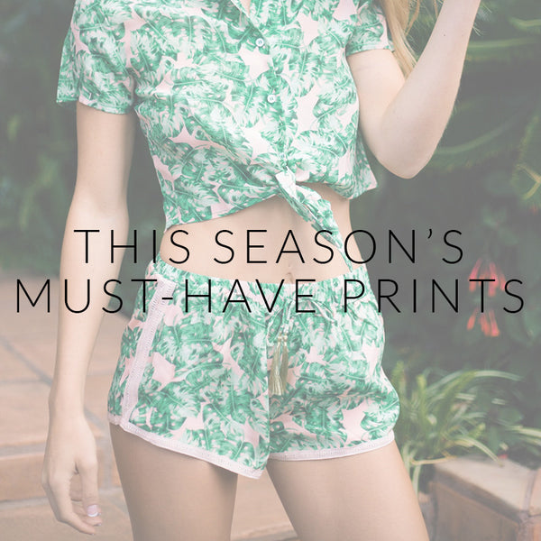 This Season's Must-Have Prints