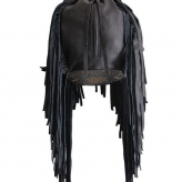 black fringe bag, cleobella, summer festival trends