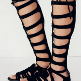 black tall sandals, free people, festival 2015 trends