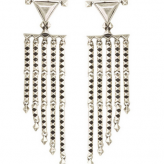 fringe earrings, house of harlowe, summer festival