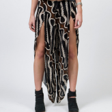 zulu slit skirt, indah, prints festival trends
