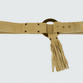 fringe belt beige, lovestrength, festival trends