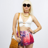 white lace crop top, somedays lovin, festival summer