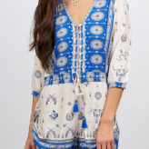 coyote print playsuit, spell gypsy collective