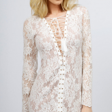 white lace desert festival dress, jetset diaries