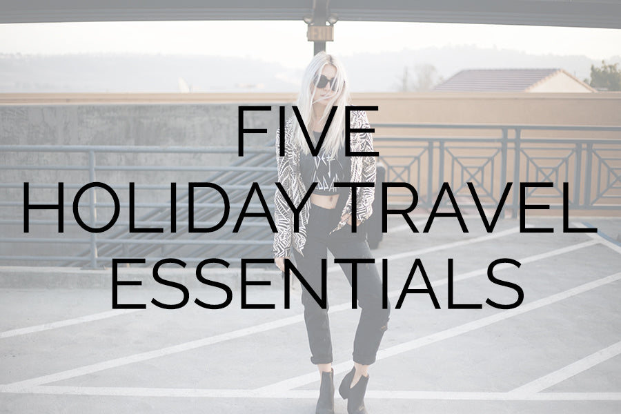 Five Holiday Travel Essentials, Cleobella Jimmy Jacket