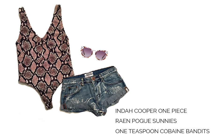 Indah Cooper One Piece, Raen Sunglasses, Free People Cobaine Bandits