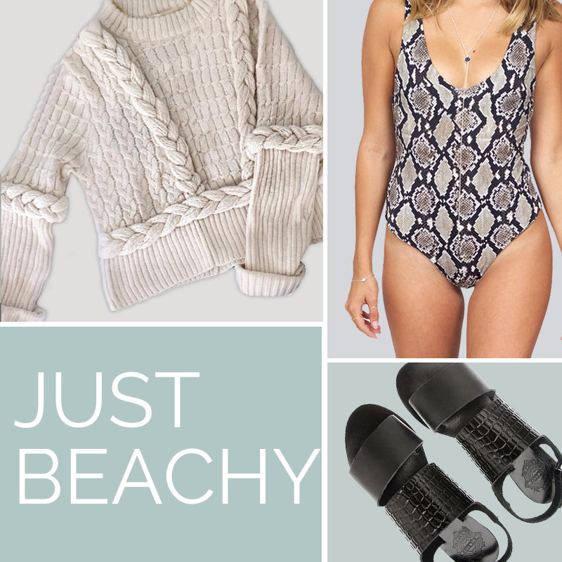 Indah Cooper Python One Piece, For Love and Lemons Knitz