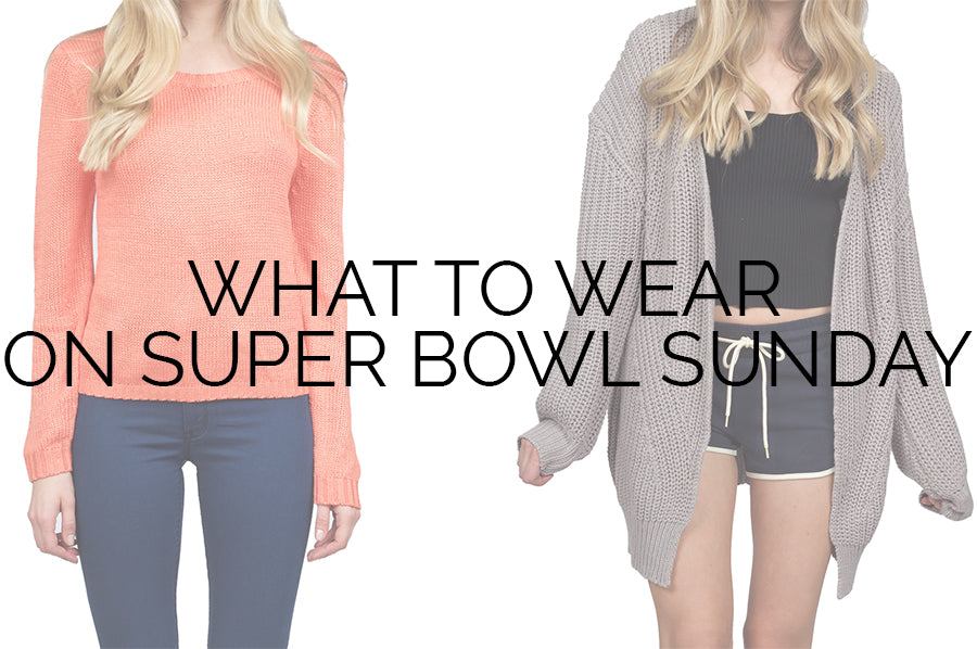 Super bowl party outfits
