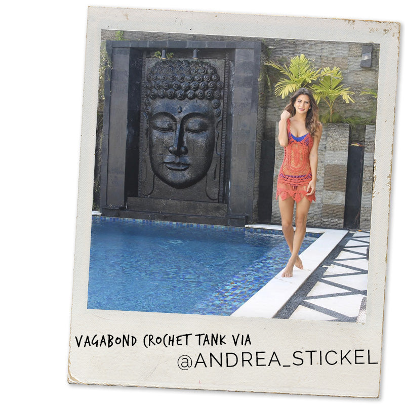 Andrea Stickel, Vagabond Crochet Cover Up