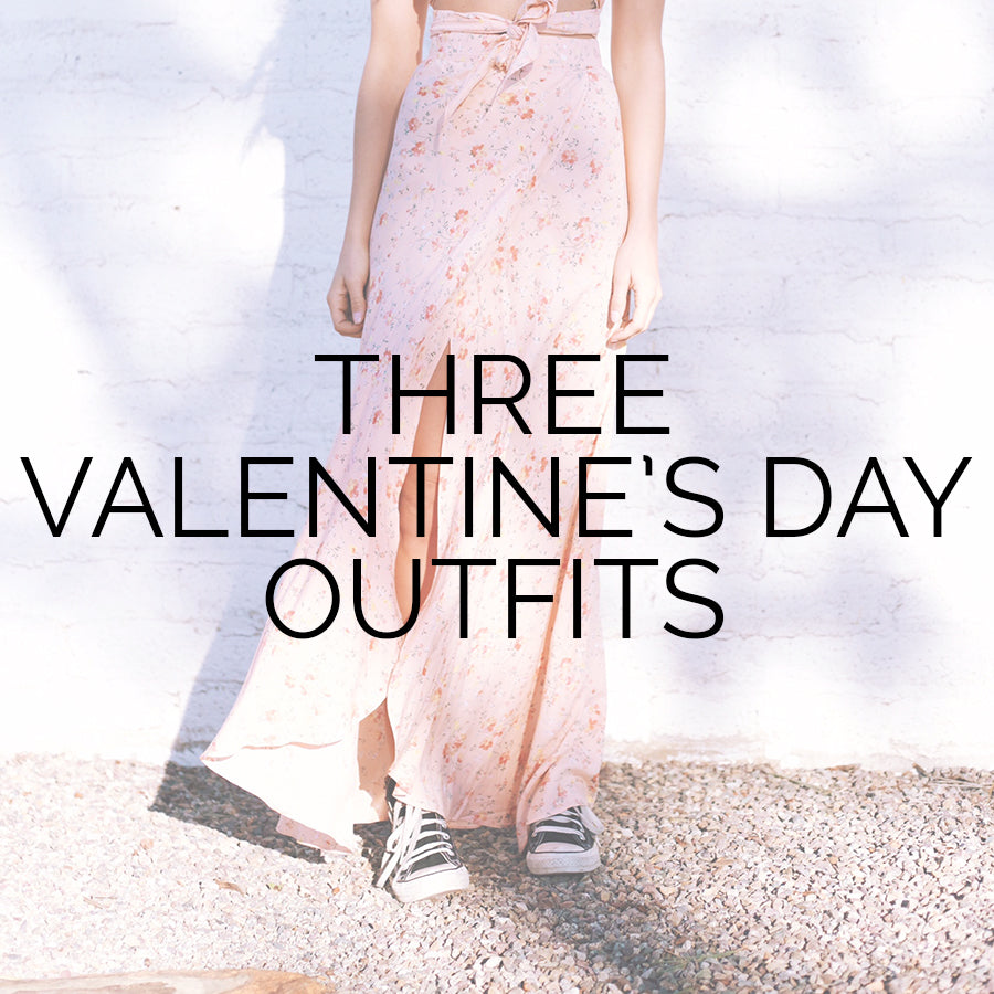 What to wear on Valentine's Day, Valentine's Day Outfits, Flynn Skye Wrap Maxi Skirt