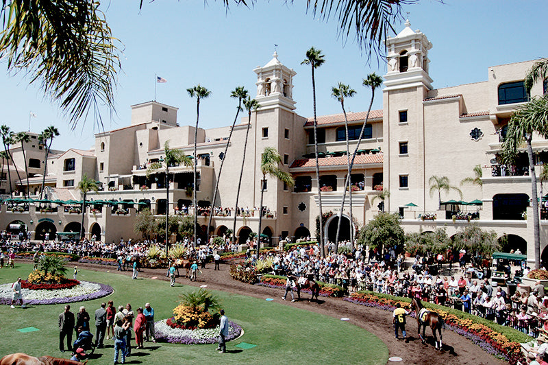 Del Mar Opening Day, Shop Van De Vort