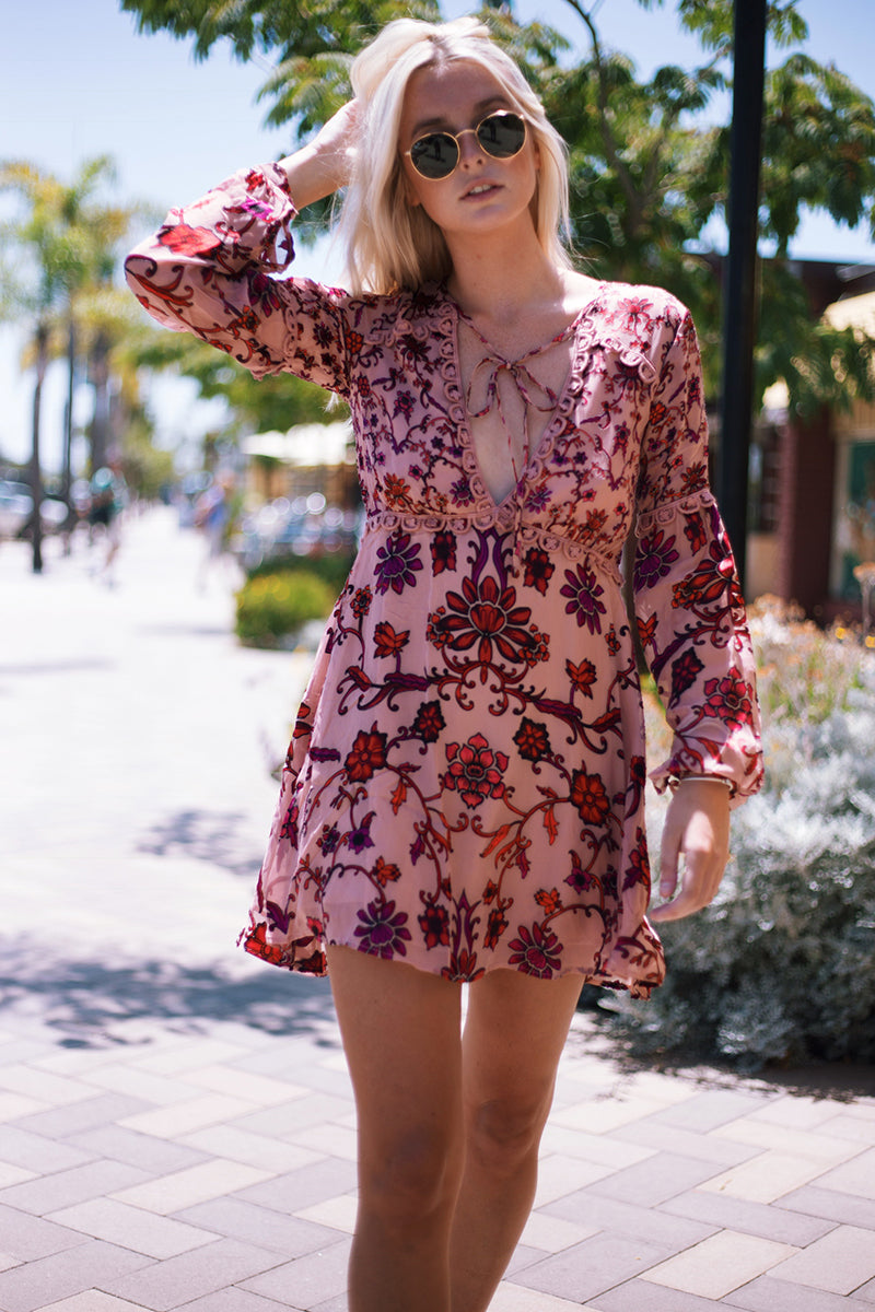 For Love and Lemons Saffron Mini Dress, Del Mar Pacific Classic Outfit