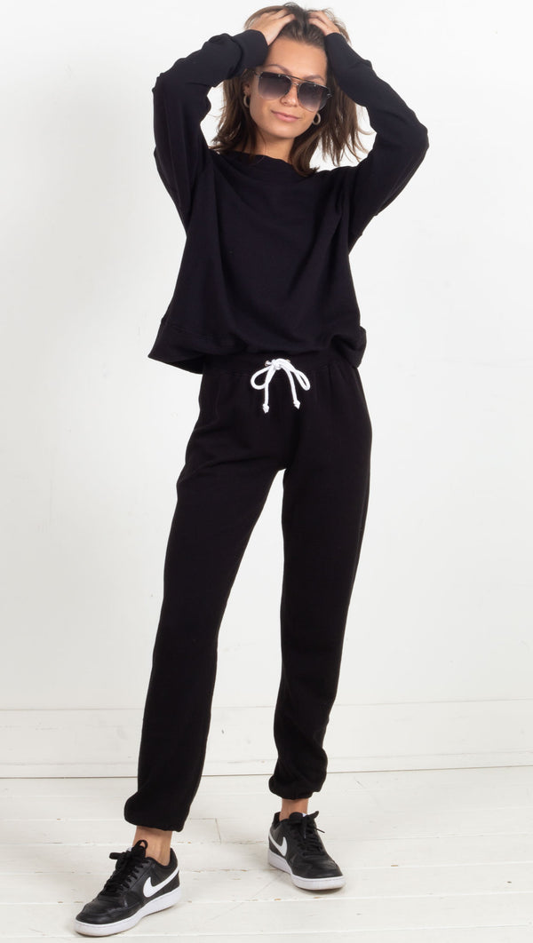 Tyler Pullover Sweatshirt - True Black
