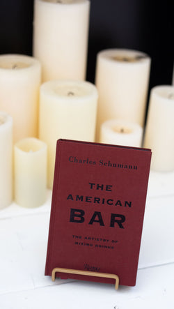 the american bar book by charles schumann dark red cover