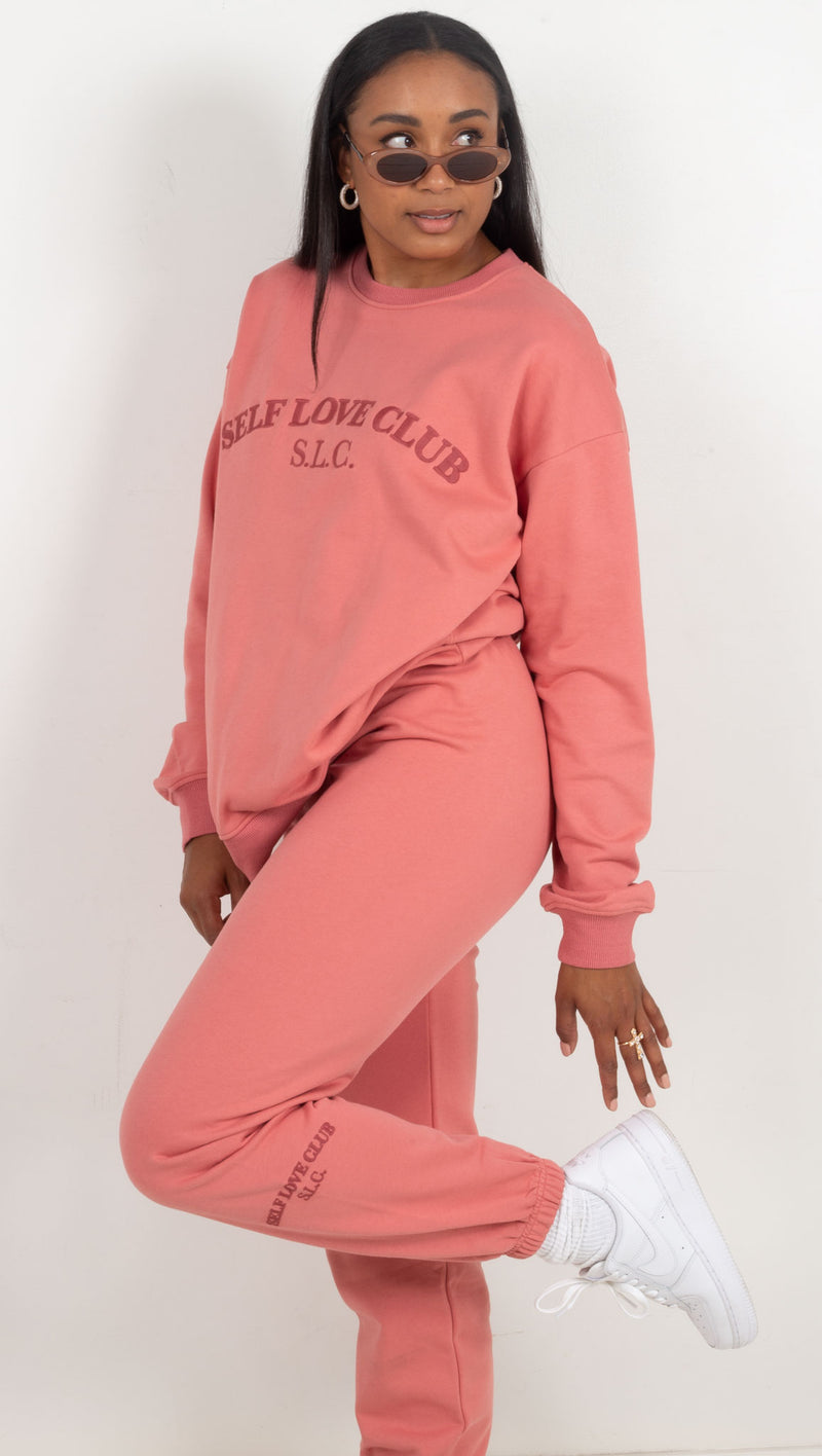 Self Love Club Crewneck - Pink