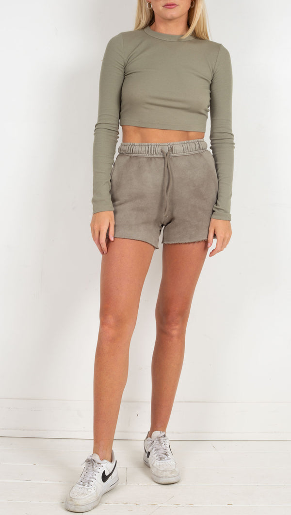 Brooklyn Shorts - Vintage Ash