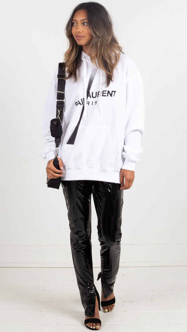 Saint Laurent Slash - White