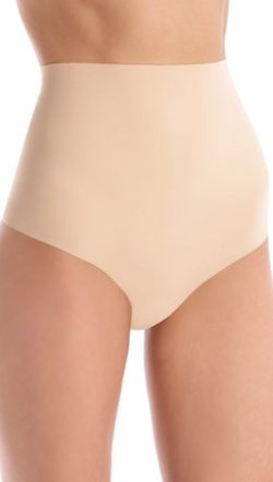 Commando High Rise Nude Seamless Thong