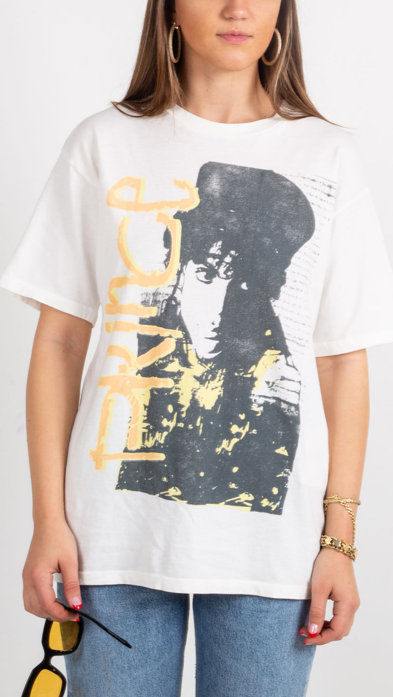 Prince Sign of The Times Weekend Tee - Vintage White