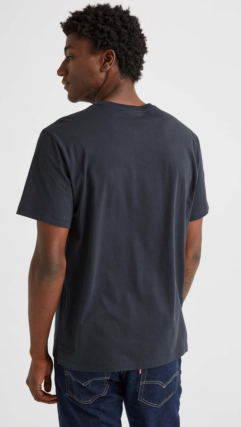 Men's Crew Pocket Tee - Stretch Limo
