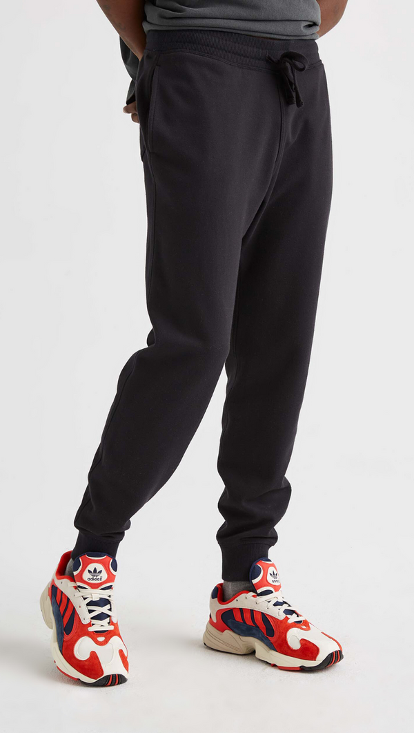 Richer Poorer Men's Black Fleece Sweatpant
