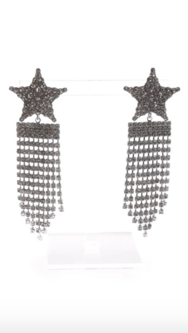 For Love and Lemons Silver Star Earrings