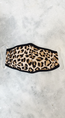 Skova Reusable Washable Cheetah Face Mask