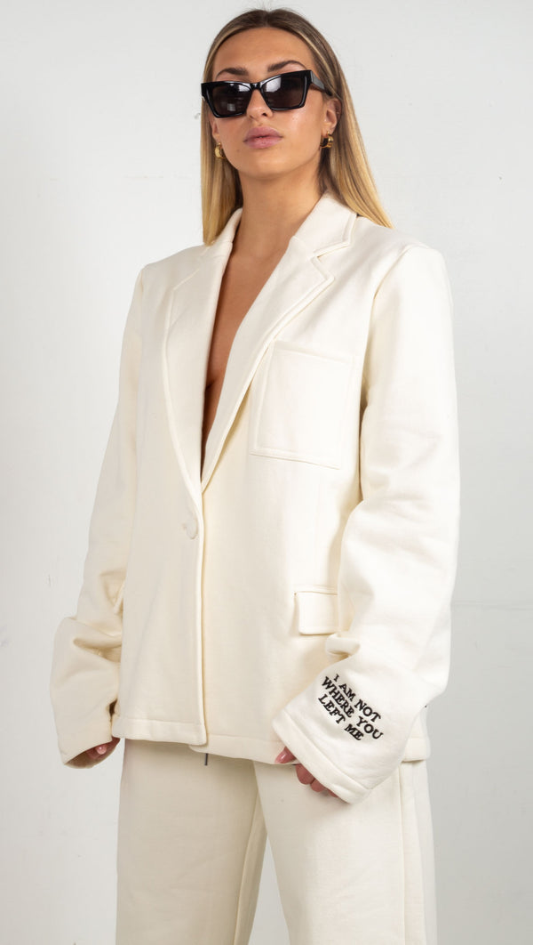 Boys Lie Oversized Blazer White