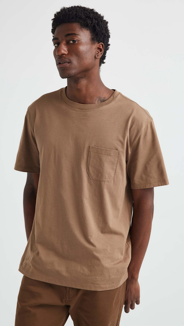 Men's Crew Pocket Tee - Cub